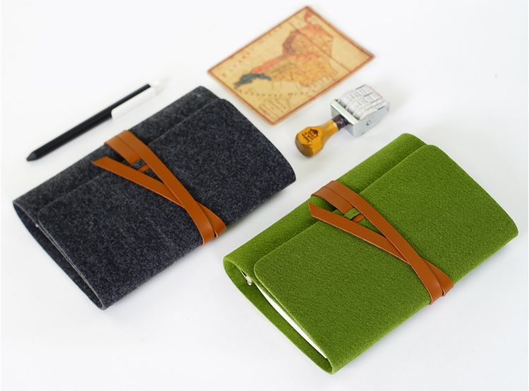 retro vintage spiral loose leaf refillable felt string bandage notebook filofax memo travel journal diary planner binder A5 A6 a5 a6 vintage loose leaf refillable wool felt spiral weekly planner notebook filofax memo travel journal diary notepad