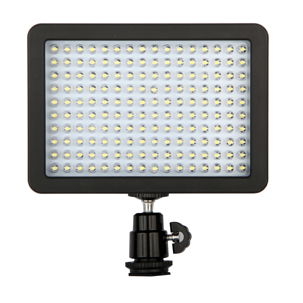 Professional W160 LED Studio Video Light Shooting Lighting For Canon NIKON SONY Video Camcorder DV Lamp Light Camera 12W 1280LM