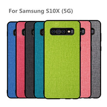 cases For Samsung Galaxy S10X case cover 5g phone 10 x back Silicone Protector shockproof Case for S10x capa