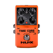 NUX Time Core Deluxe Delay Pedal Guitar Effect Pedal with Looper Tone lock True Bypass Upgrade mode nux phaser core withe phase shifter modulation stomp single effect pedal tone lock preset function true bypass free shipping
