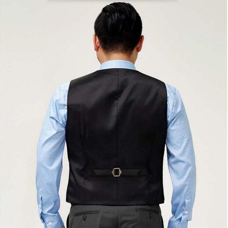 Popolare Mens Suit Vest Abbigliamento Business Casual Da Sposa Gilet Da  RZ43