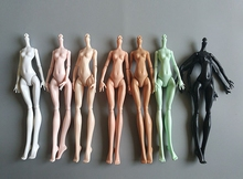 DIY 9 สีเทียมปีศาจมอนสเตอร์ตุ๊กตา Naked Body ไม่มีหัวสำหรับตุ๊กตามอนสเตอร์สูง Fairytales 11 ข้อต่อตุ๊กตาร่างกาย