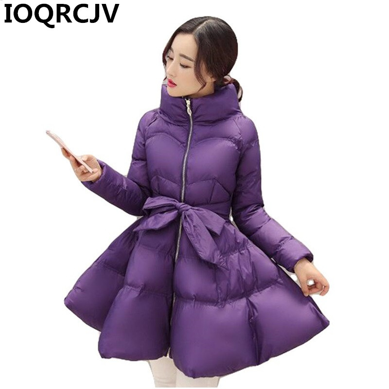 2019 New Fashion winter coat women warm outwear Padded cotton Jacket coat Womens Clothing High Quality   parkas   manteau femme R853