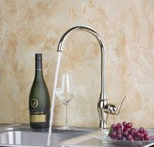 9831 Золотой полированной Ванная комната и Кухня смесителя Одной ручкой умывальник, смеситель