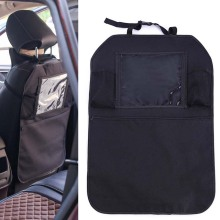 64*46 см, органайзер на заднюю часть автомобильного сиденья, карманная сумка для хранения, универсальная подвесная Сумка-держатель с пвх пленкой для сенсорного экрана