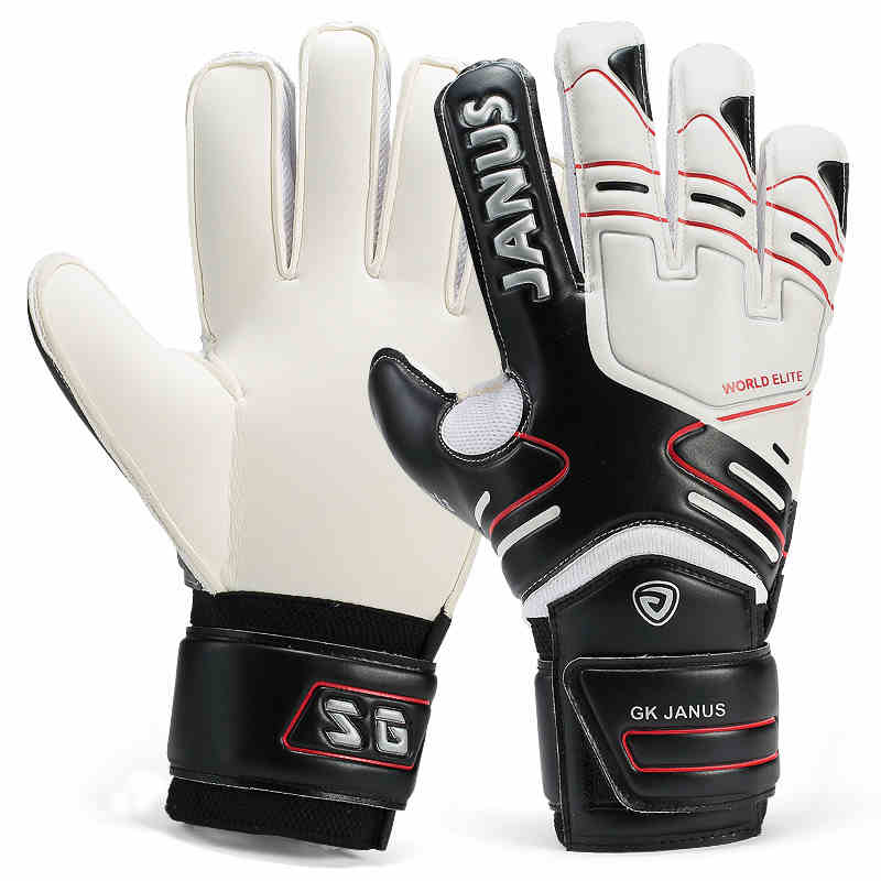 2019 Professional children football gloves men thicken latex football goal keeper gloves kids soccer goal keeper training gloves image