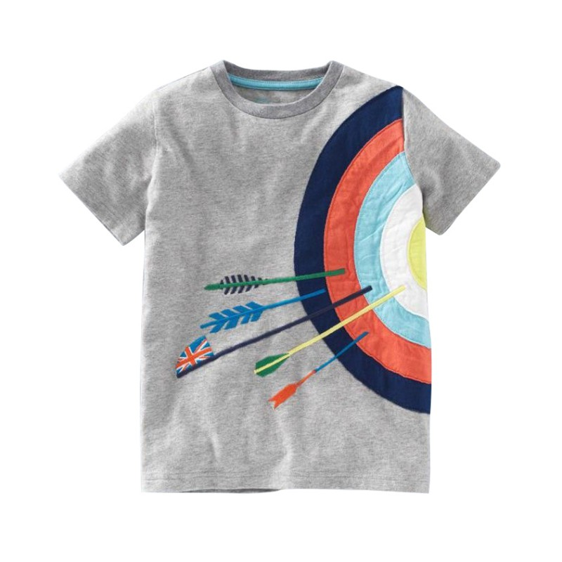 Baby Boys T-shirt Cartoon printing Short Sleeve Summer Tee Shirts Tops Comfortable For Dressing In Different Places