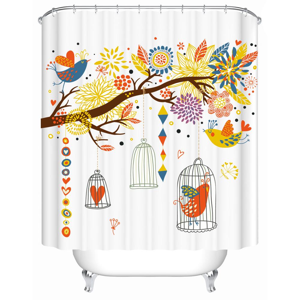 vintage cortina de tela para cortinas de la cocina dormitorio bao bao de polister durable con