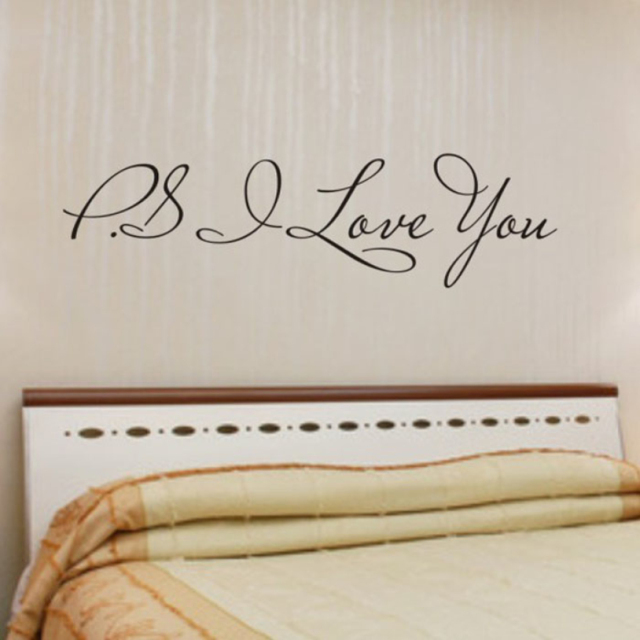 PS I Love You Wall Sticker