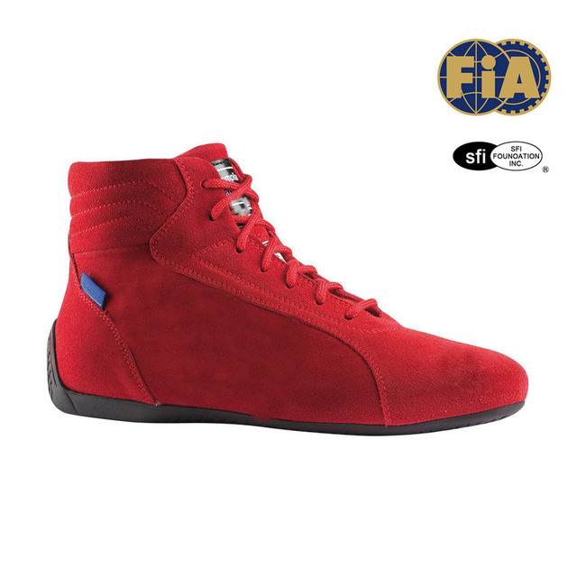 RED Racing Shoes (FIA ) size 42 (8 UK) (9 US)