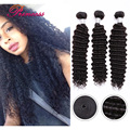Hot Sale 7A Peruvian Deep Wave Virgin Hair 100 Percent Unprocessed Virgin Peruvian Hair Deep Cheap Peruvian Hair Bundles 4Pcs