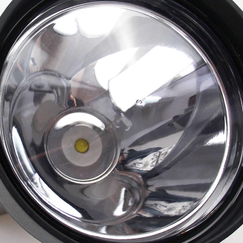 $20 di Sconto!!! Potente Usa Importato Cree 12V 25W Led 2500LM 150 Millimetri Lampada di Caccia Riflettore Tenuto in Mano con Connettore Femmina 7Ah il Sacchetto Della Batteria