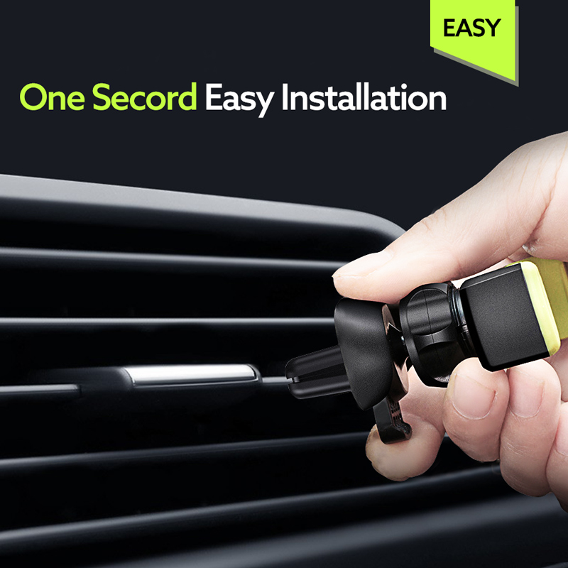 Image 4 - Universal Car Phone Holder in Car Air vent Mount holder for iphone 6 7 8 Plus X XS XR MAX Support Mobile Phone Car holder stand-in Phone Holders & Stands from Cellphones & Telecommunications