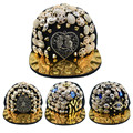 Best seller Punk Hedgehog Rock Hip Hop Silver Rivet Stud Spike Spiky Hat Cap Baseball Cap zk