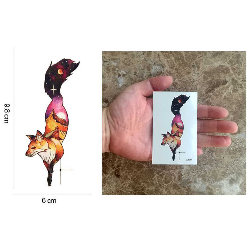 HXMAN הדרקון זמני קעקוע מדבקת קעקועים עמיד למים נשים אופנה גוף אמנות ילדים ילדי יד מזויף קעקוע 9.8X6cm A-059