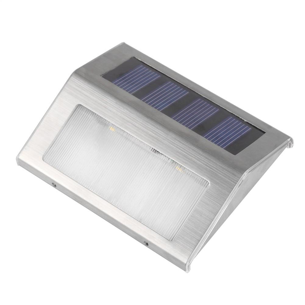 Billig Outdoor Solar Power Wasserdicht Licht Treppe 2 wege wand ...