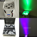 (8 огней + корпус) Dj свет Батарея led сценический свет wifi 4x12 Вт par led беспроводной  DMX 512 кейс полета УФ батарея питание uplighting