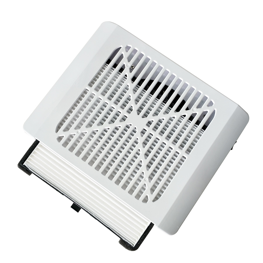 36W Strong Power Wireless Rechargeable Nail Dust Collector Nail Fan Art Salon Suction Dust Collector Machine Vacuum Cleaner Fan