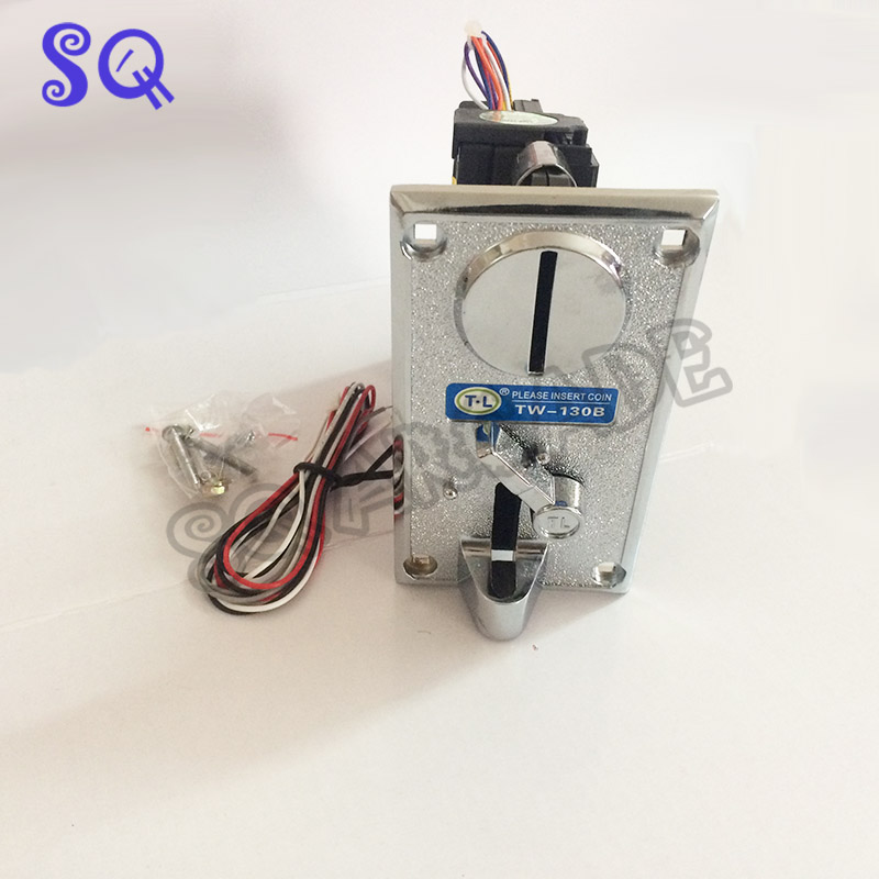 High Quality Plastic Electronic Coin Acceptor TL 130B CPU Multi Coin acceptors Comparison Coin Selector Side