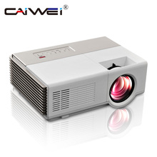 CAIWEI mini projector led Portable Cheap video projector 1080P Digital HDMI TV home movie theater for laptop dvd mobile phone