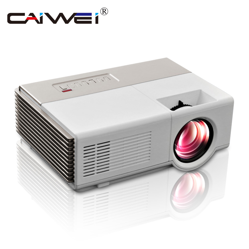 HD Mini Portable LED Multimedia Projector Home Theater Video Movie Game HDMI USB VGA AV 1080P CE FCC Certificated 1Year Warranty