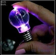 4 Цвета СВЕТОДИОДНЫЕ Красочные Лампочка Брелок Акриловые Лампы