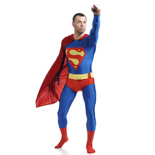 ФОТО carnaval kigurumi party pub stage performence cosplay superman leotard zentai avengers jumpsuits costume