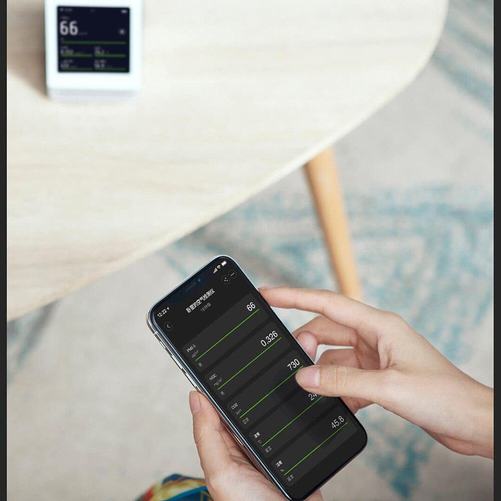 Xiaomi Mijia ClearGrass moniteur d'air rétine tactile IPS écran Mobile opération tactile intérieur extérieur clair herbe détecteur d'air - 6