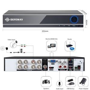 Image 4 - DEFEWAY 8CH CCTV Camera System 1080P 8PCS 2000TVL IR Outdoor Night Vision Camera CCTV HD Security Surveillance DVR Kit 1TB HDD