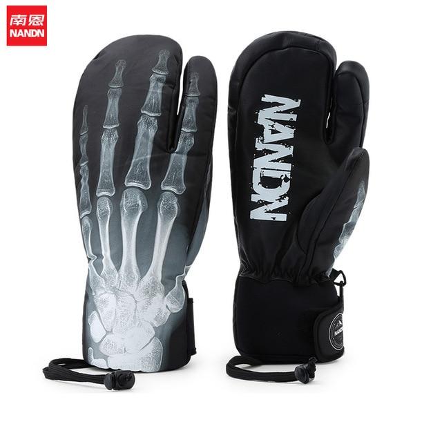 NANDN gants de Ski Snowboard gants hommes classique hiver gants écran tactile gants hommes armée Guantes