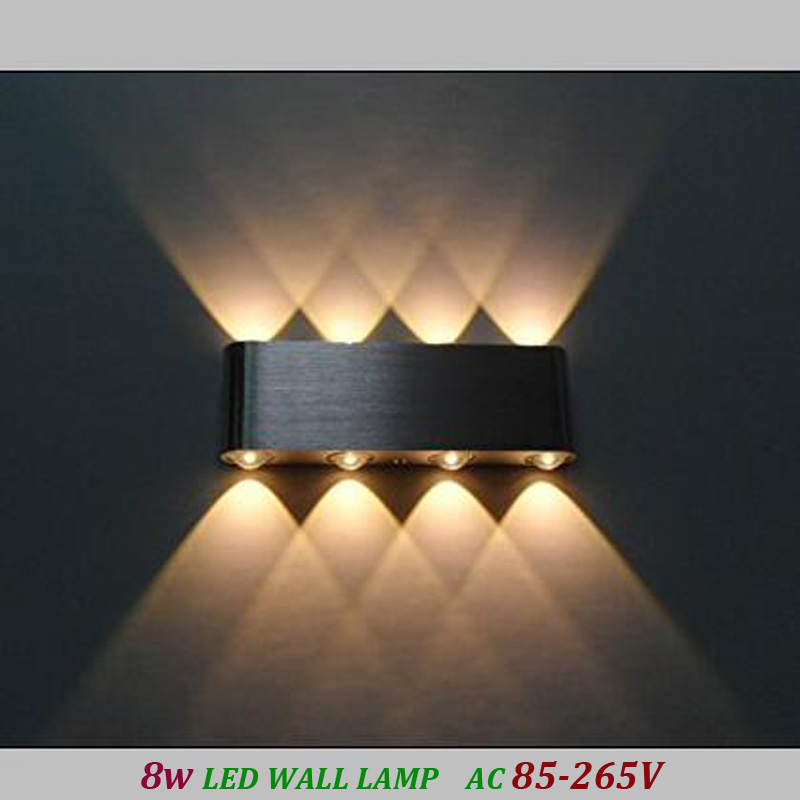 Aliexpress 8w Led Wall Sconces Light Fixture Hardwired Up Down For Theater Studio Hall Porch Corridor Bedside Bedroom Mirror From