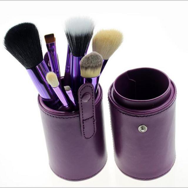 Grooming Ferramentas 1 PCS pincéis de Maquiagem Mini cosméticos de maquiagem pinceis de Mushroom blush brush punho de madeira compo escovas