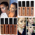 2016 Caliente Profesional Cosméticos Crema Hidratante Líquido Imprimación Cara Minerales Mate Oscuro Piel Liquid Base Maquillaje Del Contorno