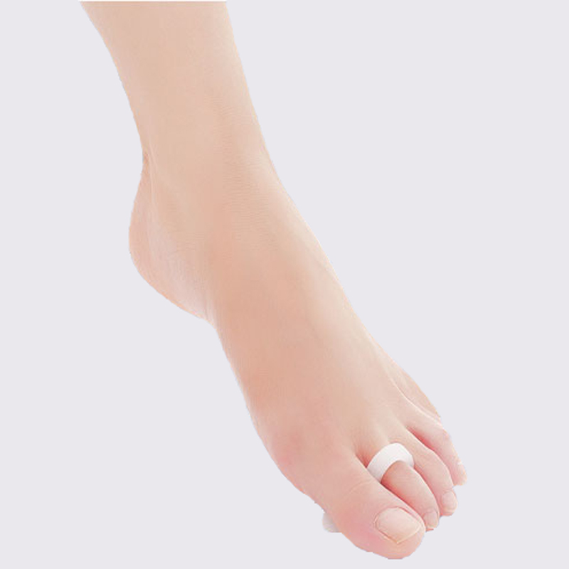 10Pair Silicone Feet Care Gel Orthopedic Almofada Rings Toe Separators Soletta Hallux Valgus Correction Orthodontic Shoes Pads