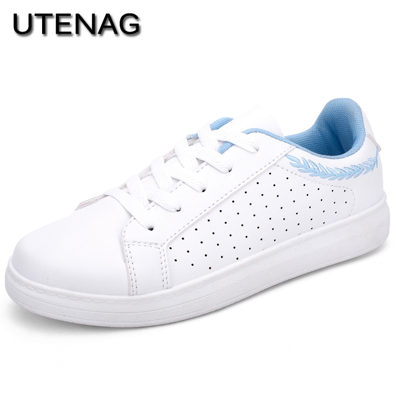 Hot Sale New Fashion Trending Style Comfortable Cool Women Flats Walking Sneakers Breathable Lightweight Lace Up Casual Shoes
