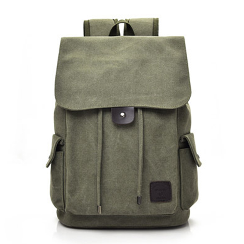 Men's Backpack Schoolbag For Teenagers Large Capacity Canvas Backpacks Male Vintage Rucksack Anti Theft Backpack Men Travel Bag