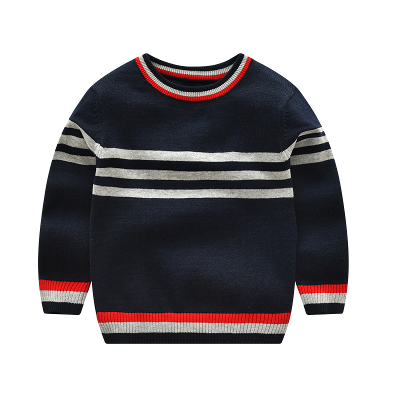 Vinnytido Boys jumper Winter Sweaters Children Kids Knitted Pullover Warm Outerwear Pure Cotton new arrival children sweaters european and american style with shirt collar kids sweaters outerwear pullover boy s sweaters