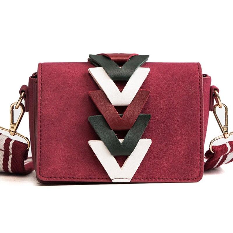 Для женщин сумка женская Сумки кожаная сумка Messenger Crossbody Высокое качество бахрома сумки небольшой лоскут красный модная одежда для девочек ...