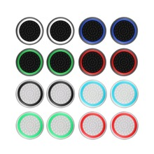 4pcs Silicone Analog Thumb Stick Grips Cover for Xbox 360 One Playstation 4 PS4 Pro Slim PS3 Gamepad Cap Joystick cases