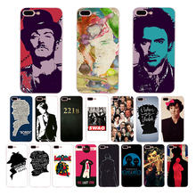 Sherlock Holmes Sherlocked patterned Soft silicone cover for iphone case 8 6 6s 7 plus xr x xs max se 5s 5 TPU Cell Funda Coque iddis blue heaven 620m580i12