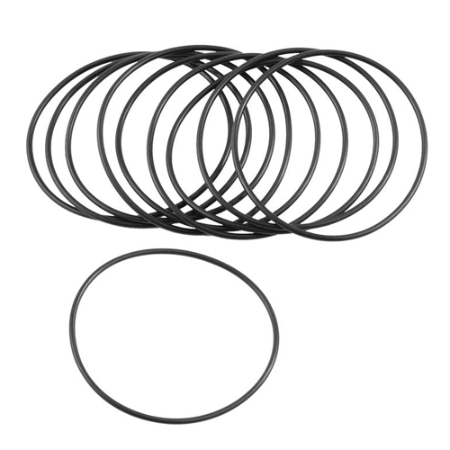 5 piezas de goma Flexible O junta t/órica del arandela junta para olla a presi/ón negro 120 mm x 3,5 mm