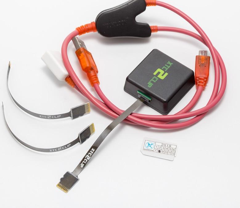 Outil de déverrouillage du clip xtc2 pour HTC avec adaptateur secteur XTC2 et câble Y clip XTC boîtier 2 avec câble