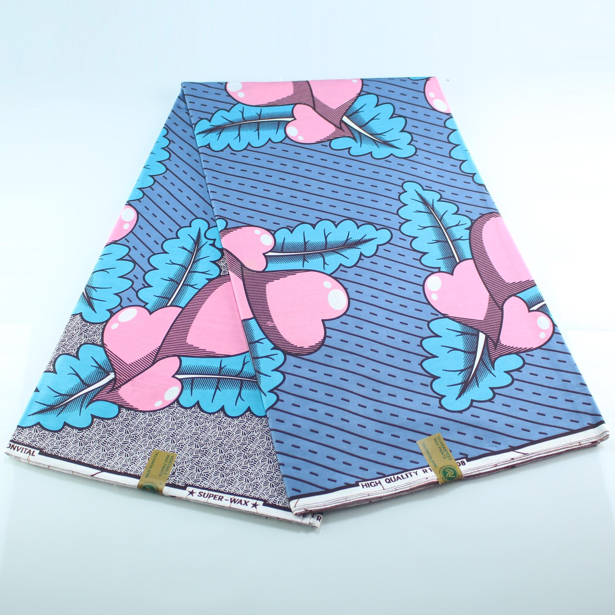 Guaranteed Real Dutch Wax High Quality Pagne Dutch Wax 6yards African Ankara Sewing Fabric
