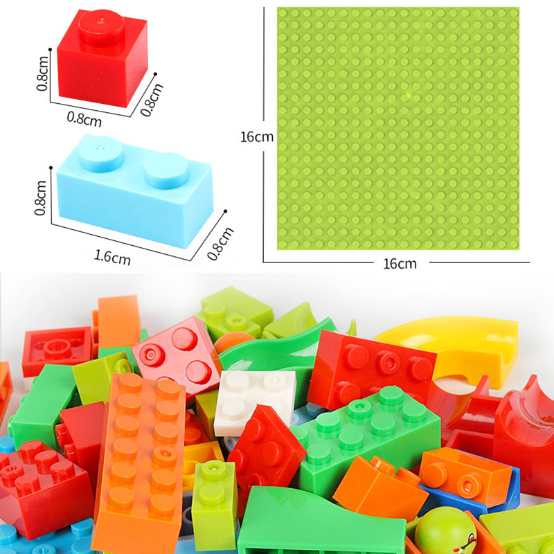 495pcs Small Size Marble Run Set Puzzle Maze Race Track Game Toy Roller Coaster Building Block
