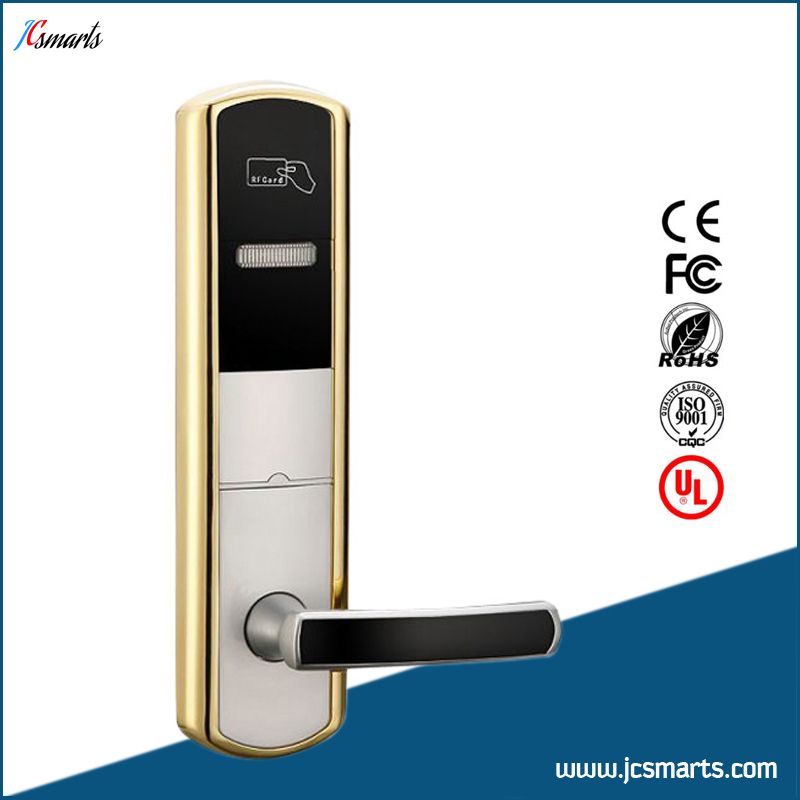 Electronic hotel room key card system keyless door locks electromagnetic lock hasan hussain hotel room division management