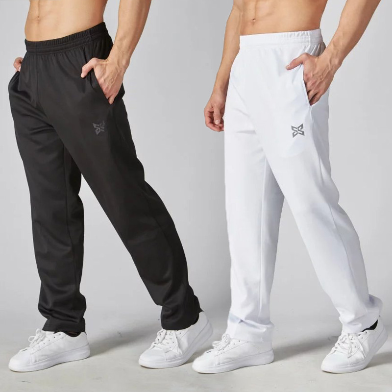 2017 Nuevo Quick Dry Running Pants Hombres Slim Sports Football Pants Mujeres Transpirable Gym Jogging Training Leggings Pantalones Pantalones