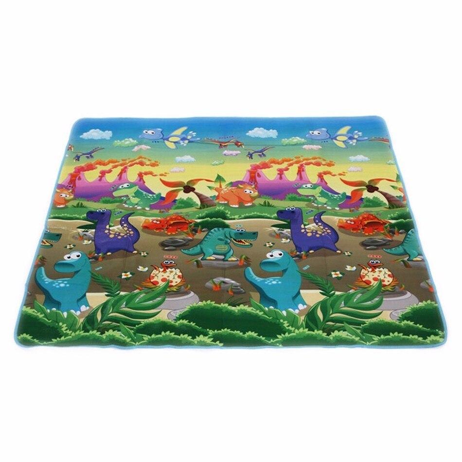 150*180 Hot Sale Double-Site Foam Play Mat Beach Mat Picnic Carpet Crawling Mat 270365