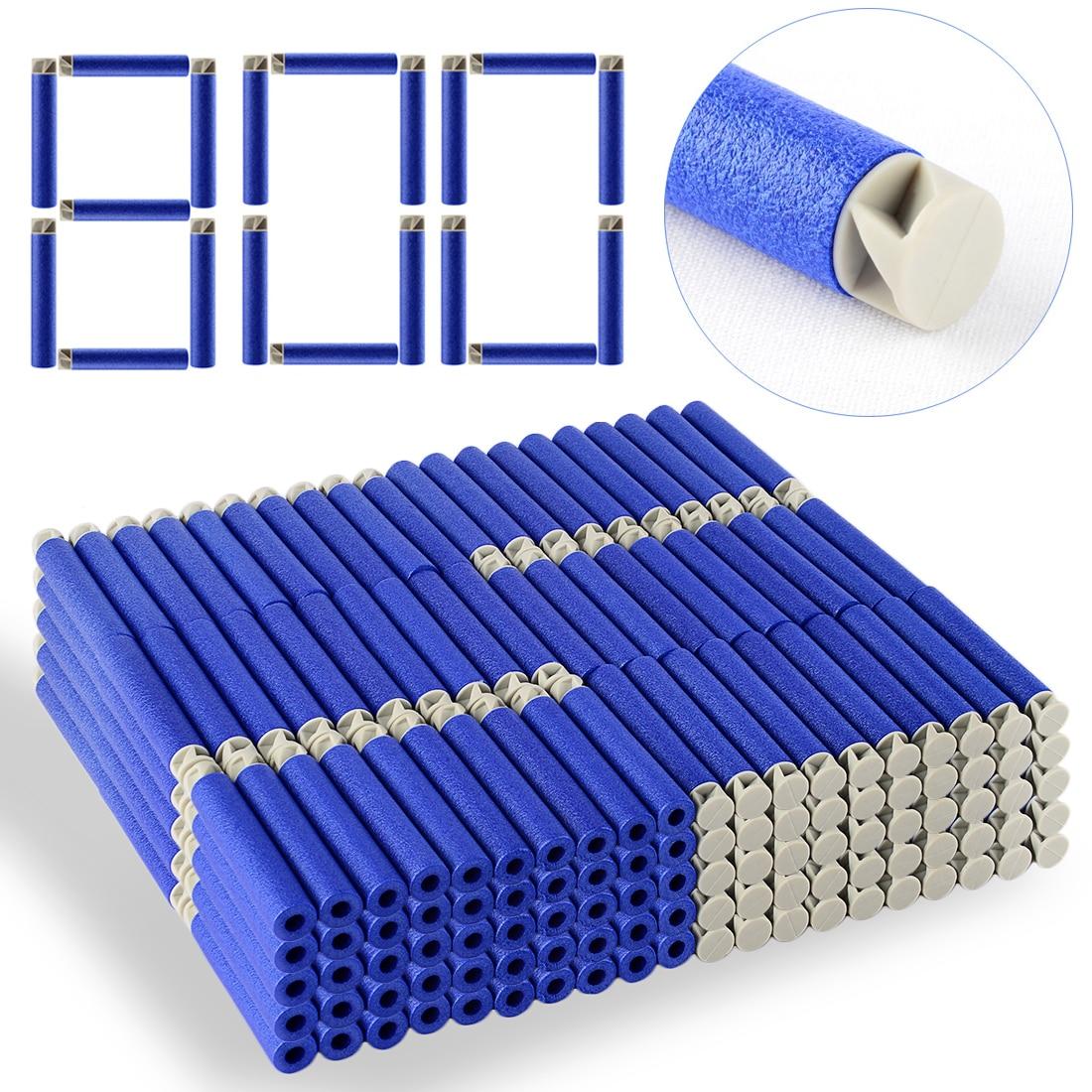 Soft Bullet Flat Soft Head Foam Bullets for Nerf N-strike Elite Series 7.4c*1.3cm - Dark Blue + Grey термобелье woodland soft thermo xl dark grey 0049584