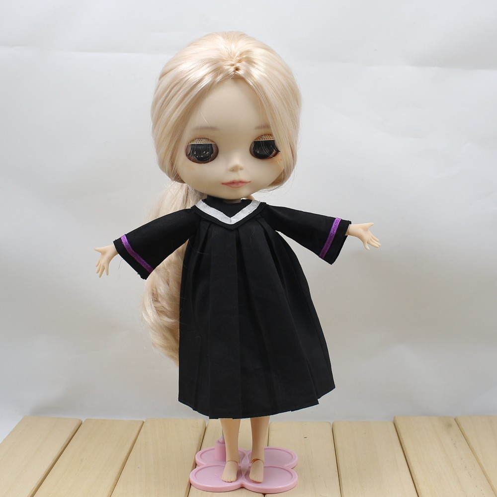 Neo Blythe Doll Graduation Dress With Trencher Cap 4