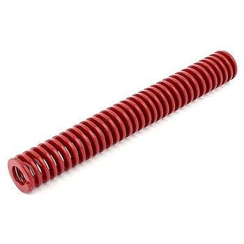 Czerwone Średnie Obciążenie Naciśnij Płaskim Kompresji Cewki Die Wiosna 20mm x 10mm x 150mm
